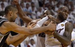Miami Heat V San Antonio Spurs 618133